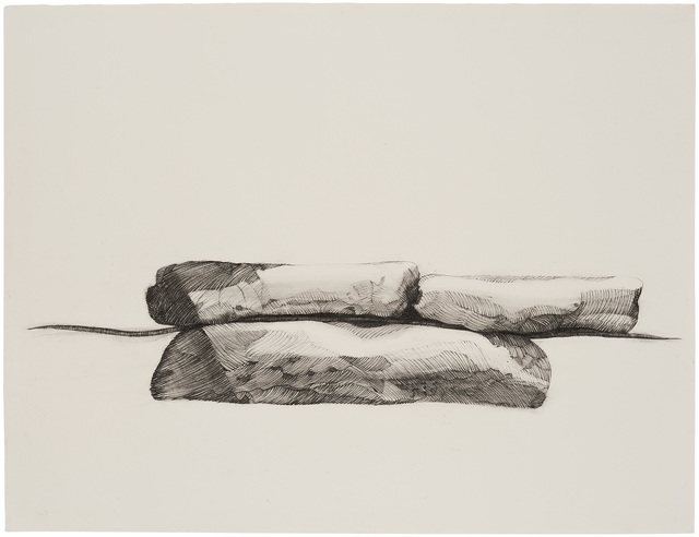 Barbara Chase-Riboud, 'Horizontal Aperture', 1972, Drawing, Collage or other Work on Paper, Charcoal and graphite on paper, Michael Rosenfeld Gallery