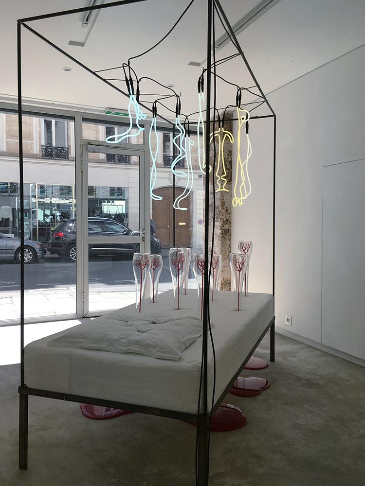 Tombée dans le Dissumba (ou Le lit des Visions), 2013