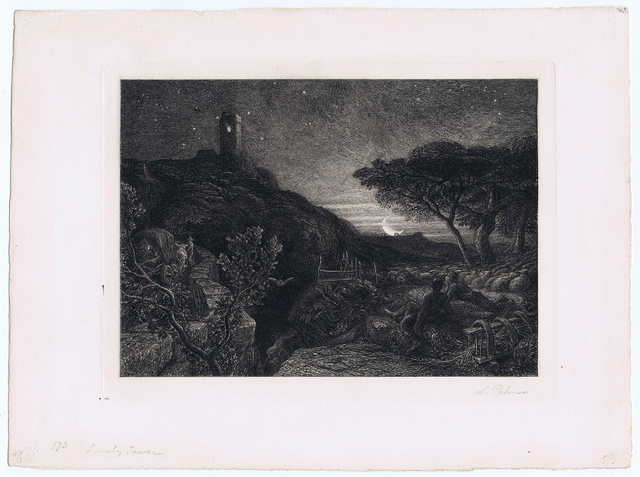 , 'The Lonely Tower,' 1879, Gerrish Fine Art