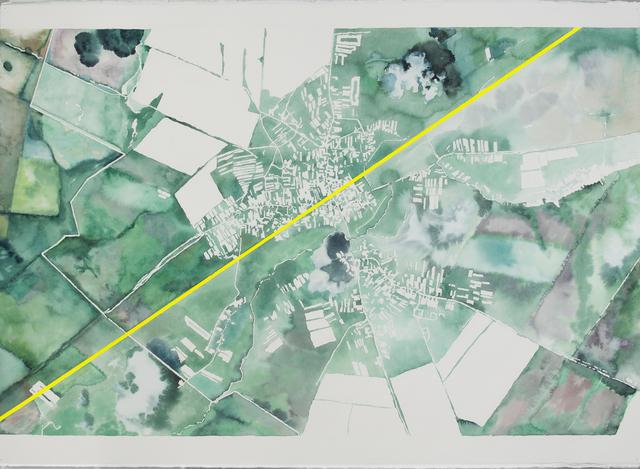 , 'Map #1,' 2017, SABSAY