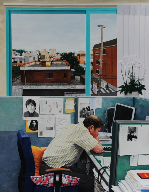 , 'Get Back,' 2012, Gallery LVS