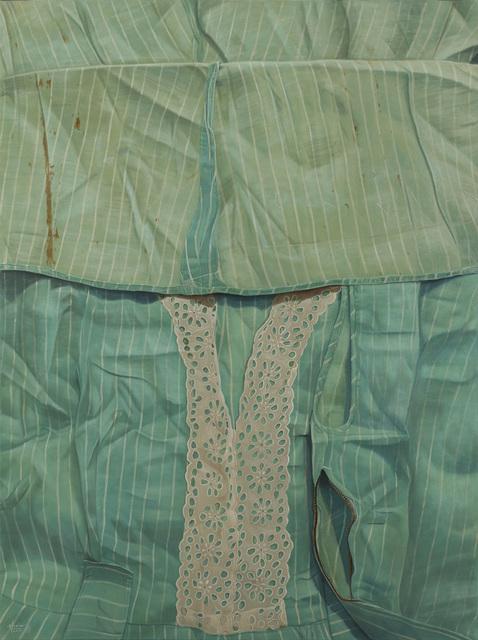 , 'White Threads and White Stripes,' 2014, Mind Set Art Center