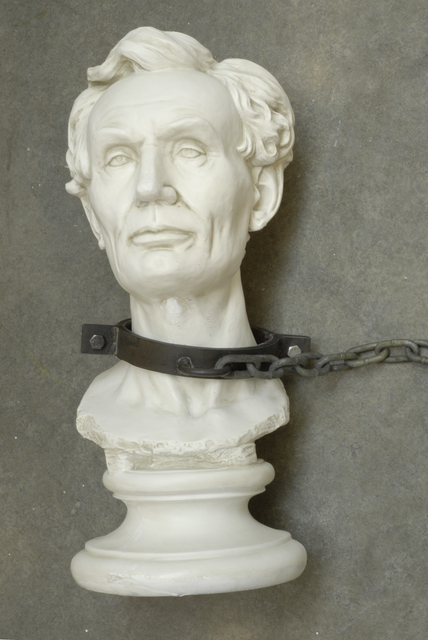 , 'Untitled (Lincoln Bust),' 2008, Cantor Fitzgerald Gallery, Haverford College