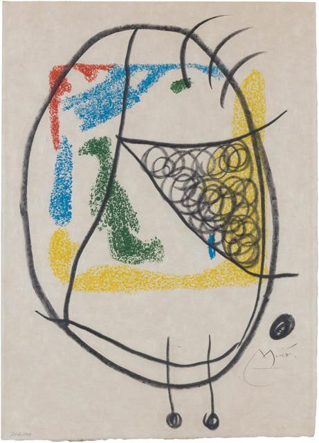 Joan Miró, 'LES ESSÈNCIES DE LA TERRA (M. 582; SEE C. BOOKS 123)', 1968, Doyle