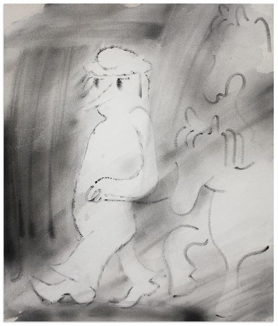 , 'Man with Horses,' 2018, Anna Zorina Gallery