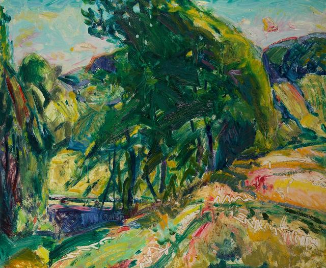 Alfred H. Maurer, 'Landscape with Green Tree', Questroyal Fine Art
