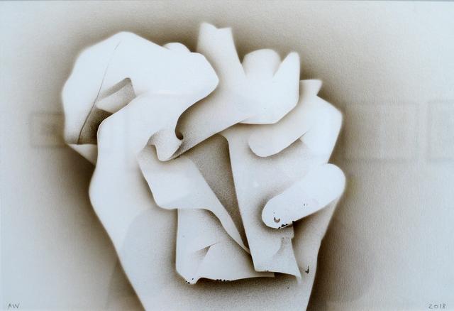 , 'Crumpling,' 2018, DC Moore Gallery