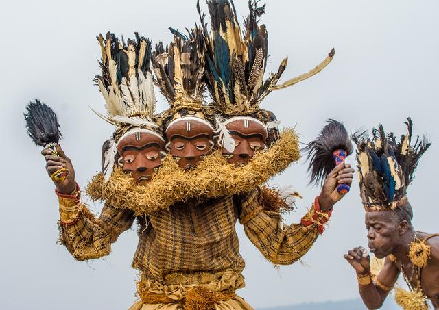 , 'Pende Gimbombi Mask, Gungu, DR Congo,' 2014, THK Gallery