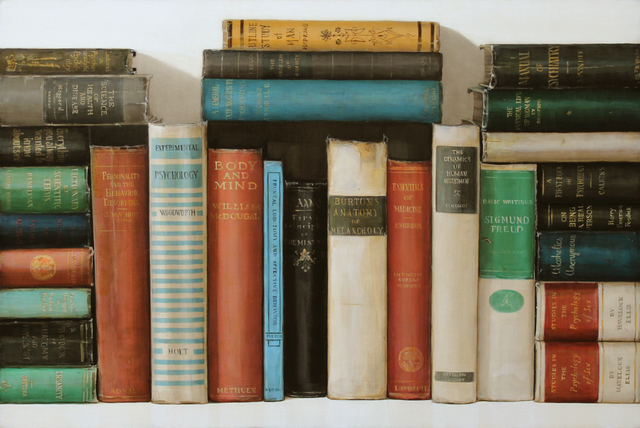 Holly Farrell, 'Psychology Books', 2018, Clark Gallery