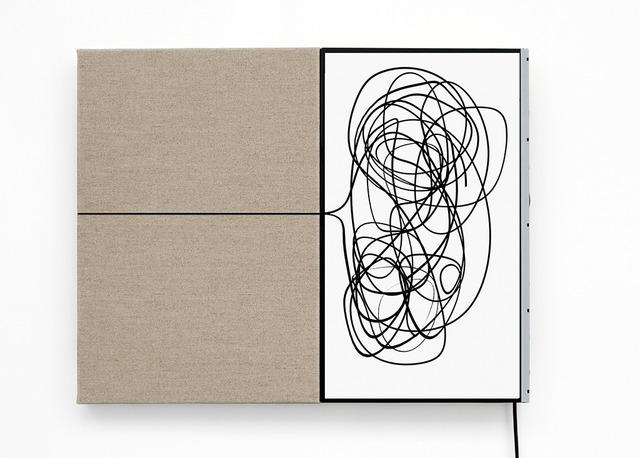 , 'Ligne, plan et contrepoint, Gribouille,' 2016, Irene Laub Brussels
