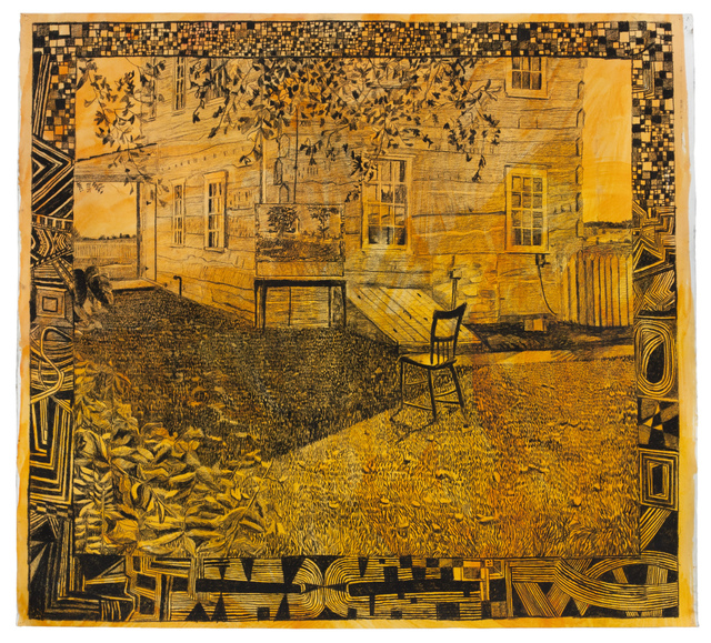 , 'The Klingle Farm and My Studio, Gettysburg, August 2015,' 2015, Fleisher/Ollman
