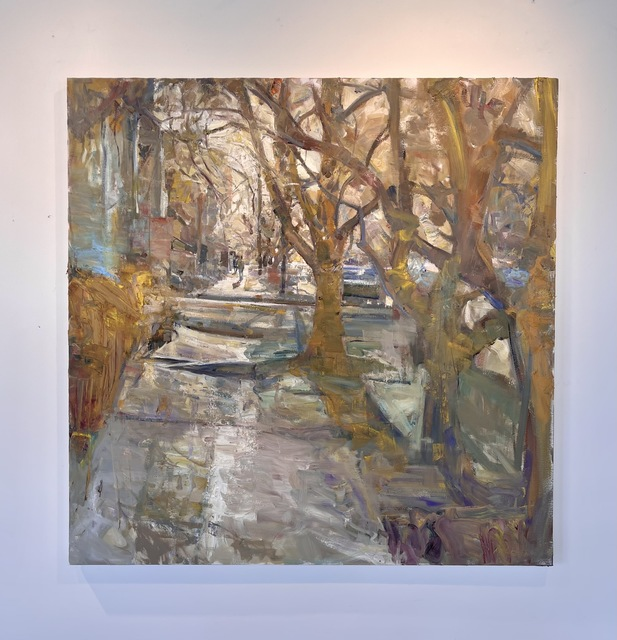 Mikael Olson, 'Amber Light', 2021, Painting, Oil on Canvas, Gallery 1261