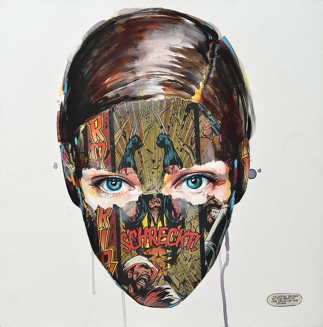 , 'La Cage et le son du tambour,' 2015, Jonathan LeVine Projects