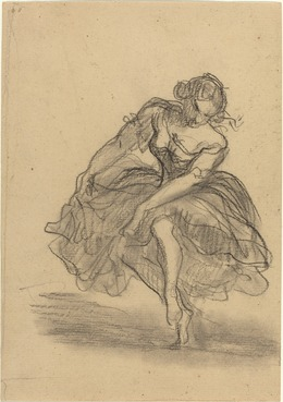 Honoré Daumier, 'Dancer', National Gallery of Art, Washington, D.C.