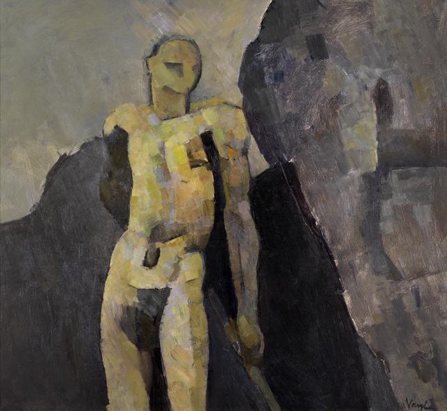 , 'Nude Against a Rock,' 1957, Osborne Samuel