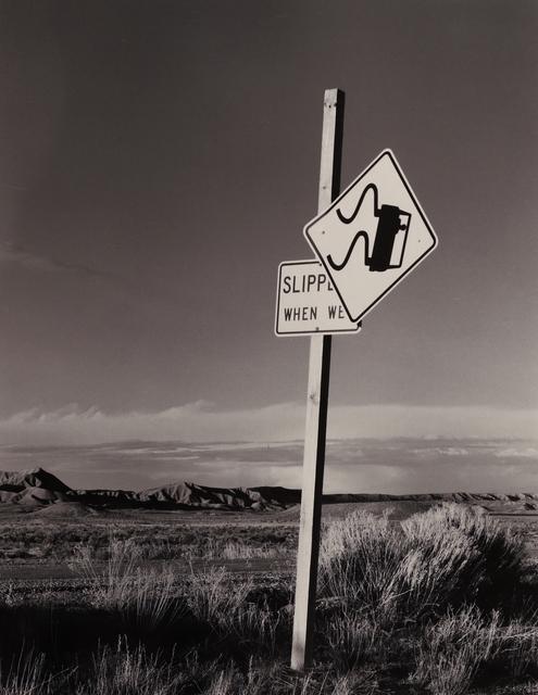 , 'Slippery When Wet, Utah,' 1979, Seagrave Gallery