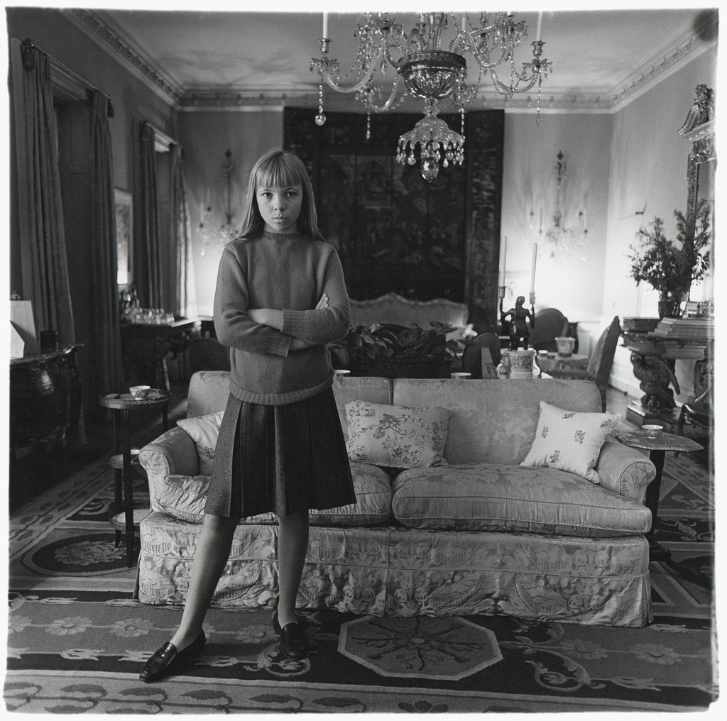 diane arbus penelope tree in her living room n y c 1962 1962 artsy. Black Bedroom Furniture Sets. Home Design Ideas