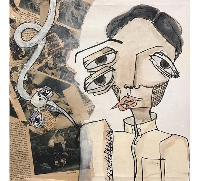 , 'Old news (1) / (أخبار قديمة (١,' 2017, al markhiya gallery