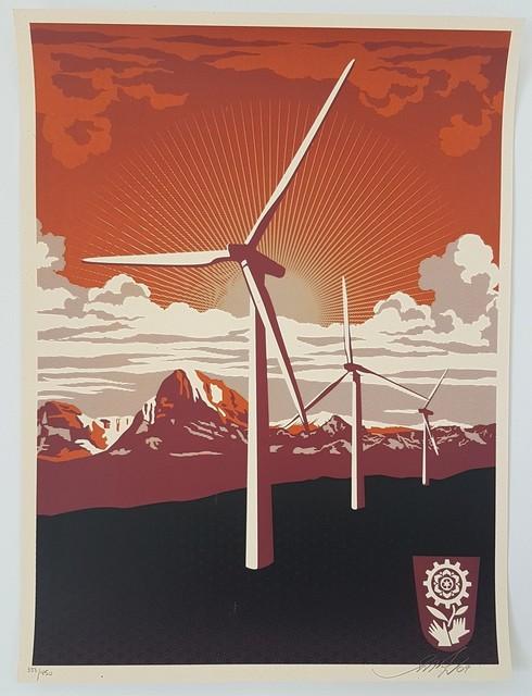 Shepard Fairey, 'Obey: Windmill', 2009, Cerbera Gallery