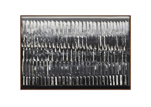 , 'Dynamische Struktur schwarz-weiß,' 1957, Cortesi Gallery
