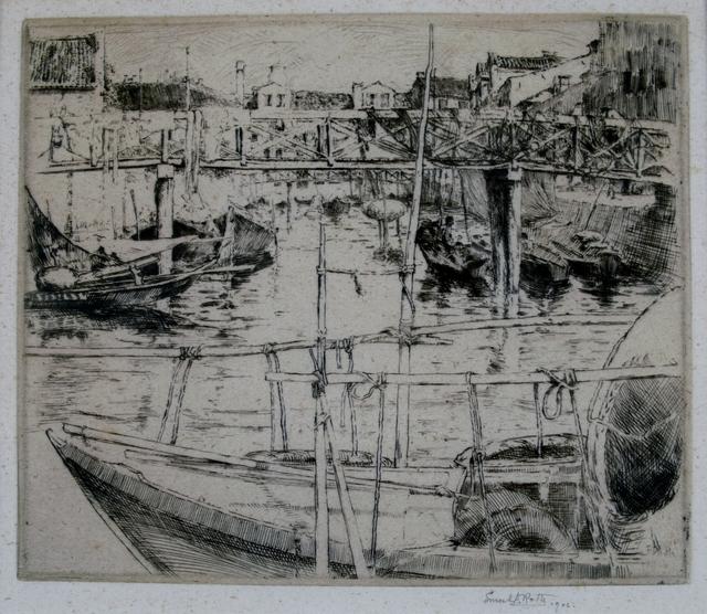 Ernest David Roth, 'Castello, Venice', 1905, Private Collection, NY