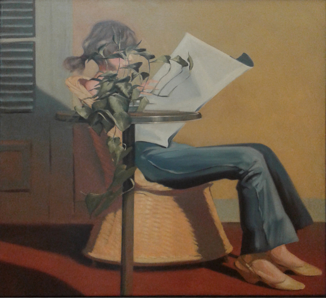 , 'En el taller,' 1979, Galeria Jacques Martinez
