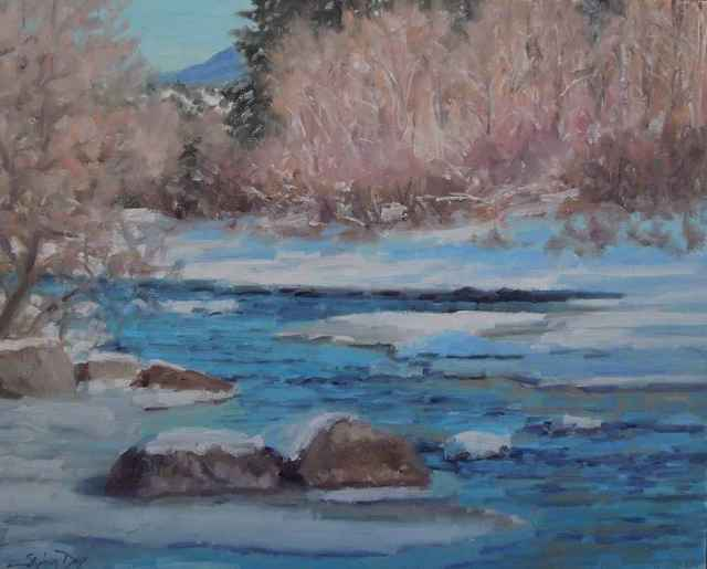 , 'Dolores River Ice,' , Sorrel Sky Gallery