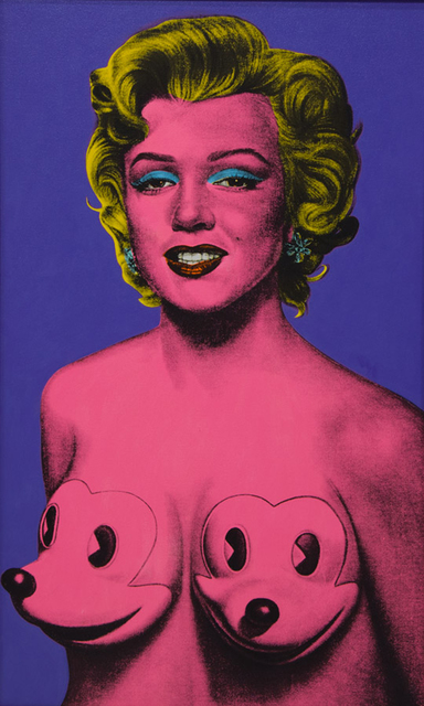 Ron English, 'Super Pink Marilyn', 2006, The Missing Plinth
