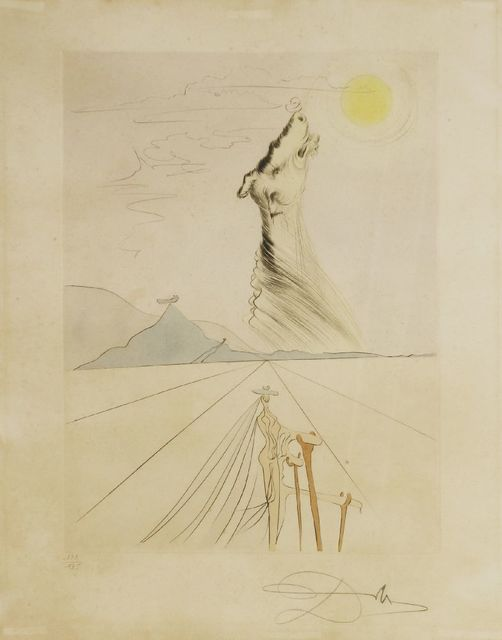 Salvador Dalí, 'Benjamin (Michler/Löpsinger 619)', 1973, Print, Etching printed in colours, Sworders