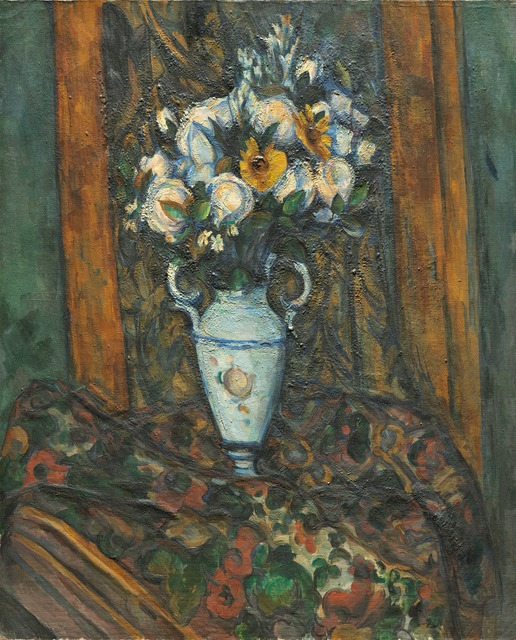 Paul Cézanne, 'Vase of Flowers,' 1900/1903, National Gallery of Art, Washington, D.C.