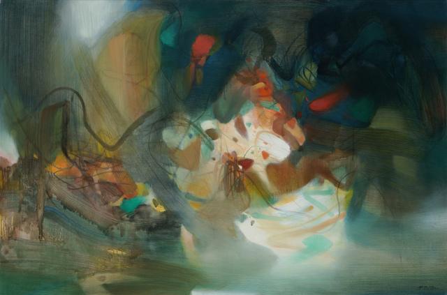 Chu Teh-Chun, 'Composition', 1984, de Sarthe Gallery