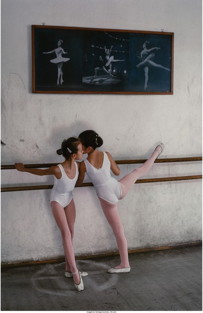 Steve McCurry, 'Ballet Dancers, Zagreb, Croatia', 1990, Heritage Auctions