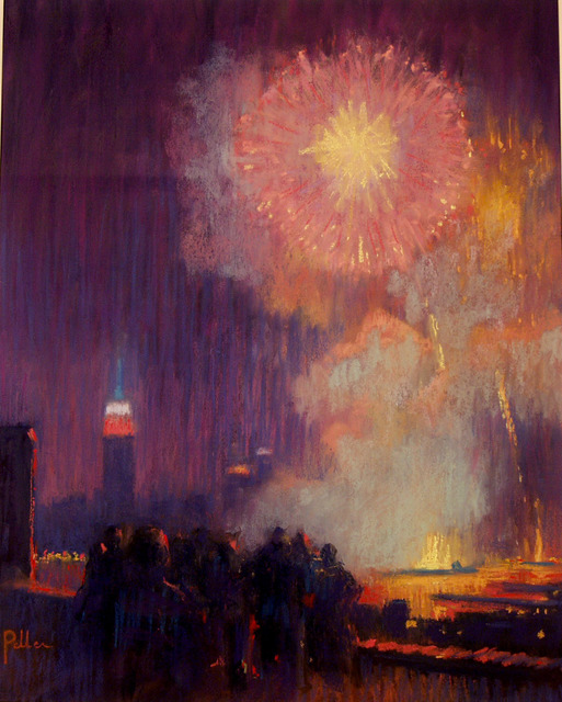 , 'Fire Works Grand Finale,' 2002, ACA Galleries