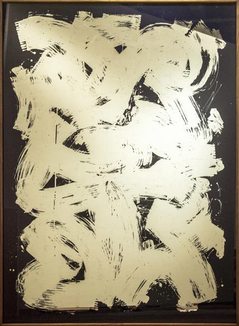 , '12 kt. Blue Mirror,' 2017, Treason Gallery