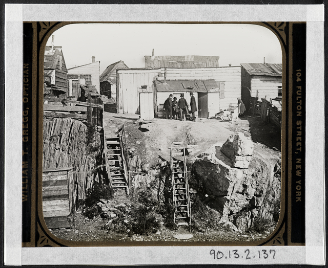 Jacob A. Riis, 'Shanty town', 1896, Museum of the City of New York