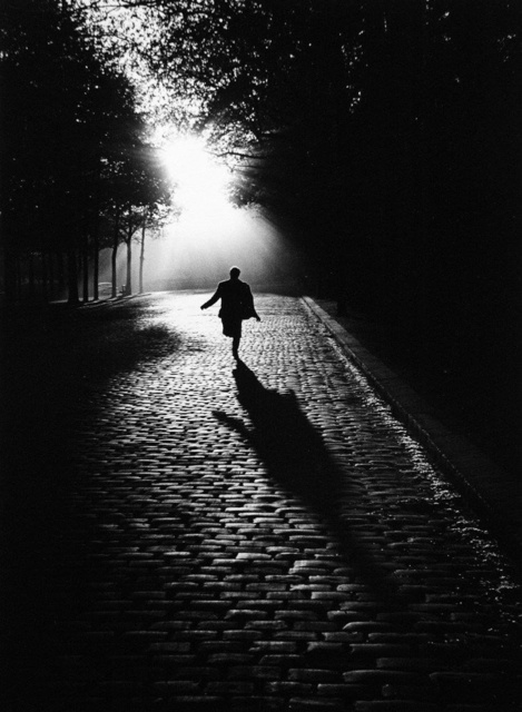 Sabine Weiss, 'L'homme qui court, Paris', 1953 (printed later), Peter Fetterman Gallery
