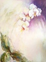 Rita Kashap, 'Orchideen', 2019, Galerie Makowski