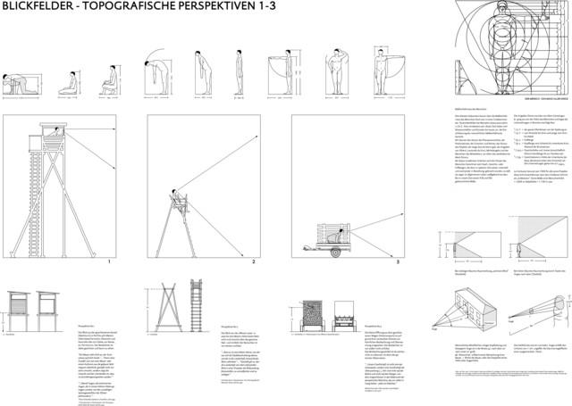 , 'Topographische Perspektiven I-III,' 2013, Galerie Judith Andreae