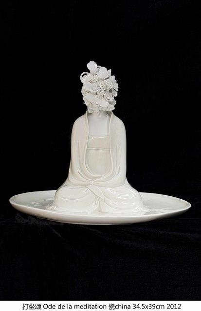, '打坐颂 Ode de la meditation,' 2012, Amy Li Gallery