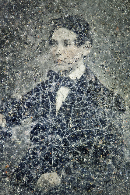 , 'Chemistry of Light No. 23 -tinted ambrotype c1890 2.25 x 2.75in, black lacquer backing in decay ,' 2012, Purdy Hicks Gallery