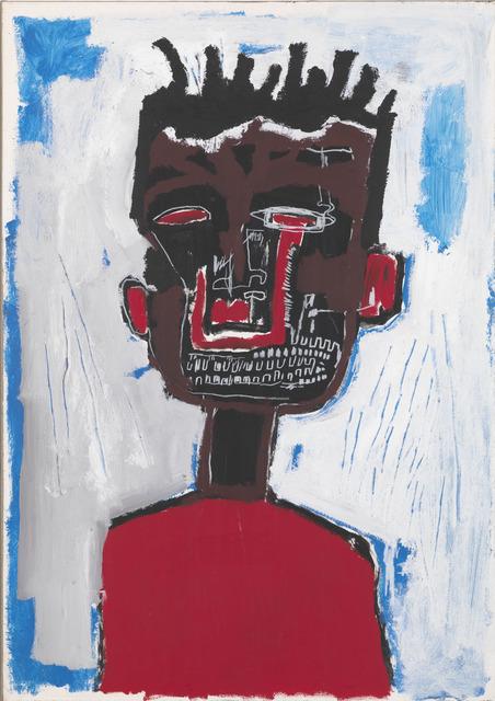, 'Self-portrait,' 1984, Gagosian Gallery