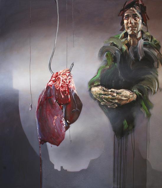 , ''Butcher' ,' 2015, StolenSpace Gallery