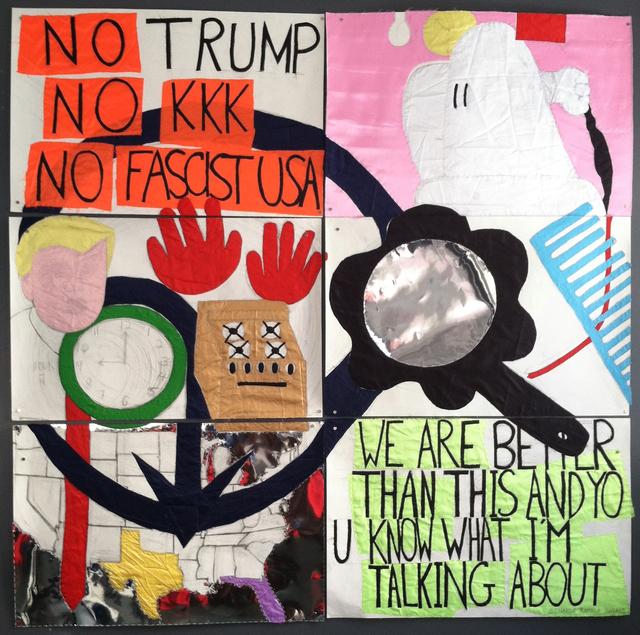 , 'No_Trump,' 2017, ODETTA