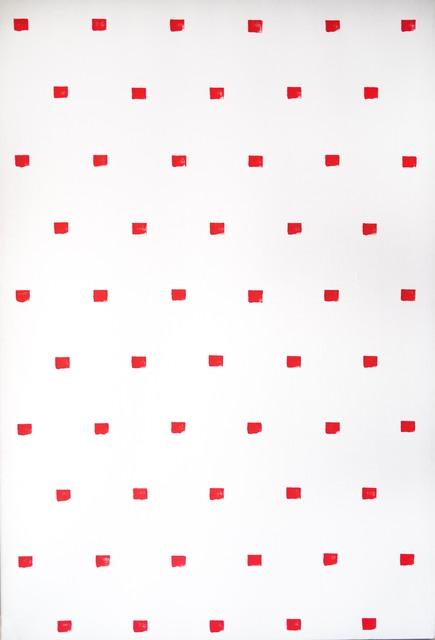 Niele Toroni, 'Empreintes de pinceau n°50 répétées à intervalles règuliers de 30 cm ', 1989, Alfonso Artiaco