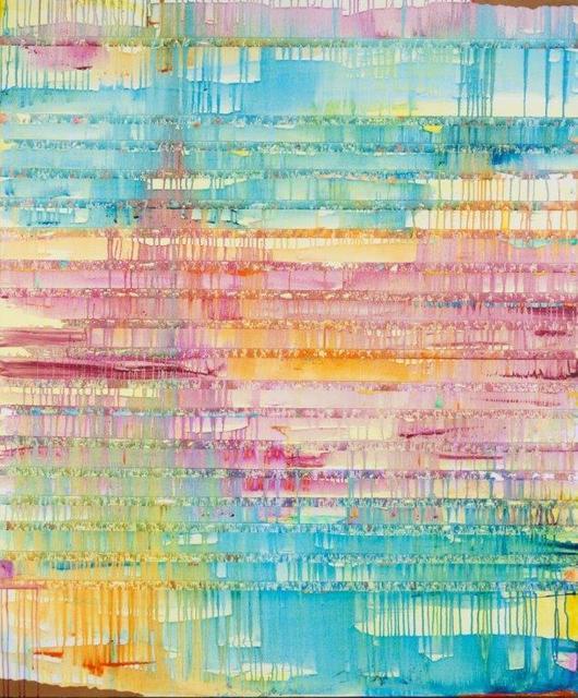 Javier David Ramos, 'Fenestra II', 2020, Painting, Mixed media on canvas, Biaggi & Faure Fine Art