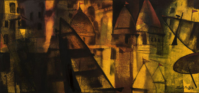 , 'Golden Horizon,' 2016, Gallery Sumukha