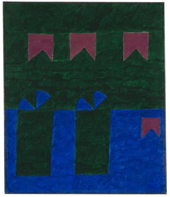 , 'Untitled (Fachada com bandeiras VI),' Early 1960's, Bergamin & Gomide