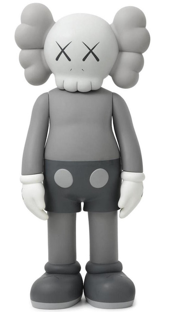 KAWS, '4Ft Companion (Grey)', 2007, Pop Fine Art