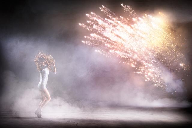 David Drebin, 'Pyrotechnic Love', 2014, Photography, Digital C-Print on Archival Paper, Isabella Garrucho Fine Art