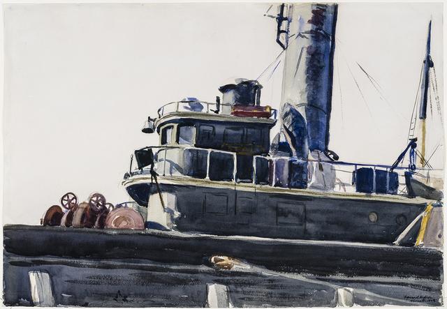 ", 'Beam Trawler, the ""Seal"",' 1923, Hirschl & Adler Modern"
